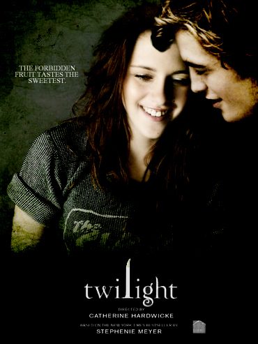 Bella Swan (Kristen Stewart) and Edward Cullen (Robert Pattison)