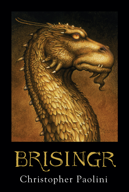 The Third Book 'Brisingr'.