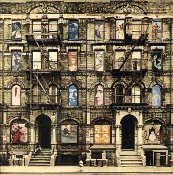 Led Zeppelin's 'Physical Graffiti'. 1975.